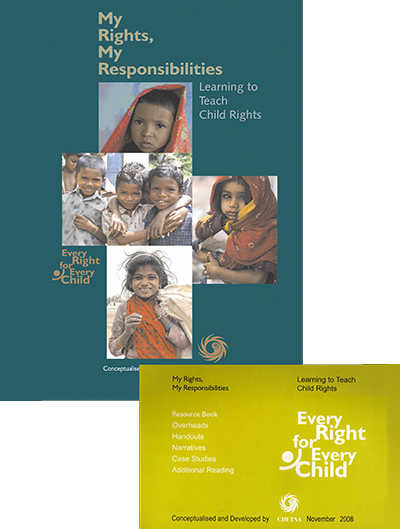My Rights, My Responsibilities; Learning to Teach Child Rights