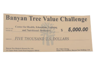 Banyan Tree Value Challenge Award - Chetna India